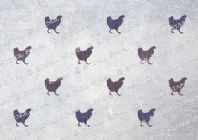 Hen Repeat Pattern